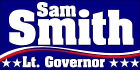 320-2c-election-political-campaign-magnet-banner-blue-red-white-star-stripe-flag-smith-lt-governor