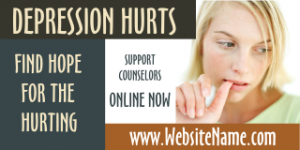 320-5c-professional-sign-template-green-brown-photo-professional-magnet-banner-counseling-depression-hurts